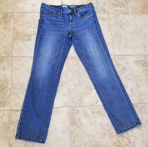 Mossimo Good Cond. Mid Rise Stretch Straight Jeans